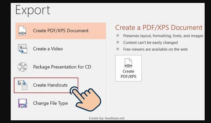 Mẹo chuyển nội dung File PowerPoint sang Word cực nhanh 3