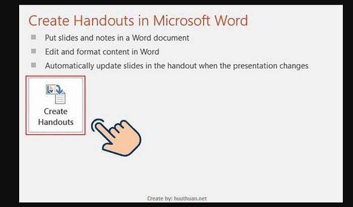 Mẹo chuyển nội dung File PowerPoint sang Word cực nhanh 4
