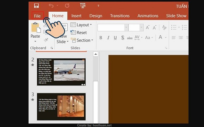 Mẹo chuyển nội dung File PowerPoint sang Word cực nhanh 7