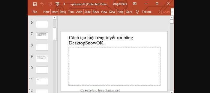 Mẹo chuyển nội dung File Word sang PowerPoint cực nhanh 7