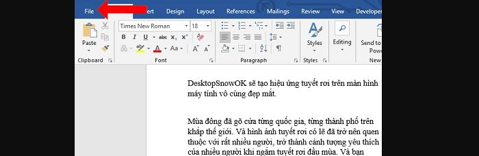 Chuyển nội dung File Word sang PowerPoint