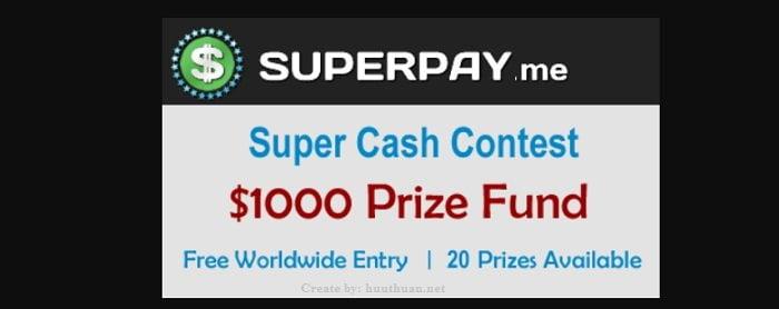 Mẹo kiếm tiền với Superpay rút về Paypal chỉ với 1$ 2
