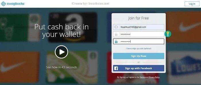 Mẹo kiếm tiền với swagbucks cực kỳ uy tín đảm bảo nhận được tiền 10