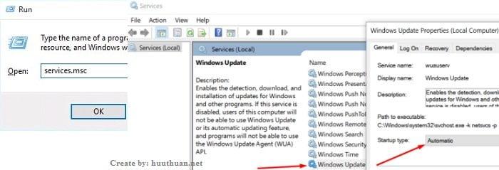 sửa lỗi 800F0922 khi cập nhật Windows