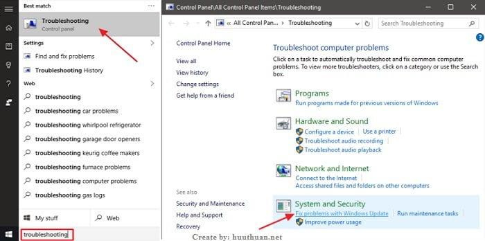 Mẹo sửa lỗi 800F0922 khi cập nhật Windows 10 7
