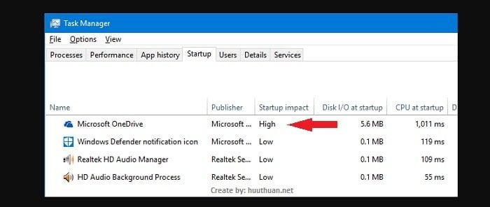tăng tốc Windows bằng cách tắt các chương trình khởi động