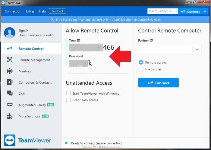 Mẹo sử dụng TeamViewer điều khiển máy tính hiệu quả 3