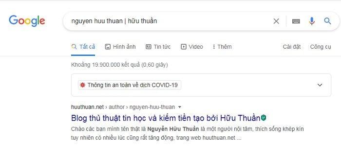 Mẹo tìm đâu trúng đó trên Google cực đơn giản 2