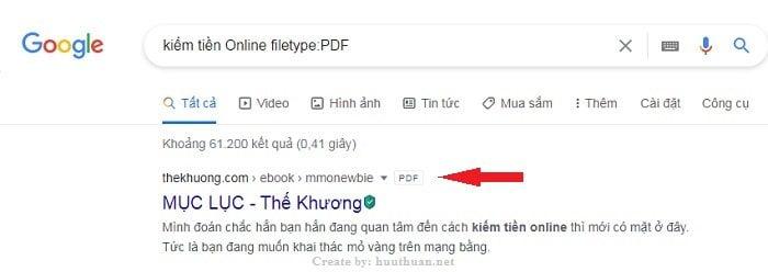 Mẹo tìm đâu trúng đó trên Google cực đơn giản 5