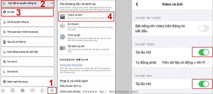 Mẹo tải Video HD lên Facebook giữ nguyên chất lượng 10