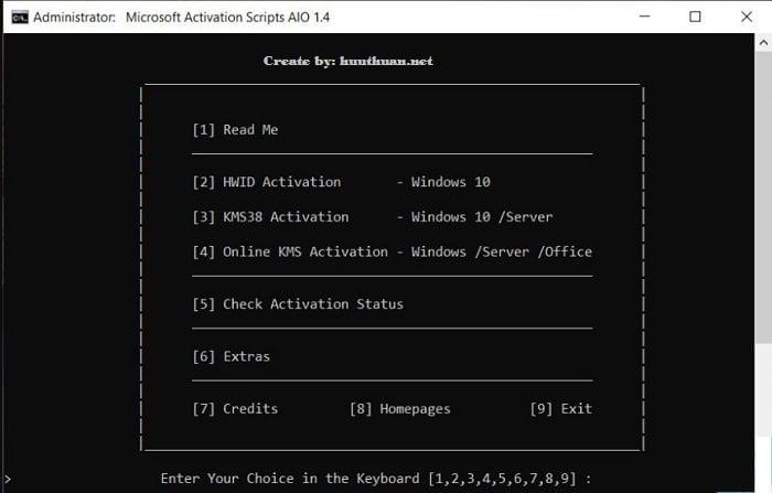 6 công cụ giúp bạn Active Windows và Office vĩnh viễn 10