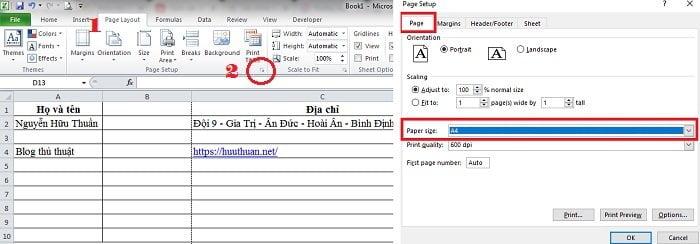 7 mẹo căn chỉnh trang in vừa khổ giấy trong Excel đơn giản 8