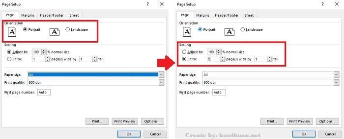 7 mẹo căn chỉnh trang in vừa khổ giấy trong Excel đơn giản 9