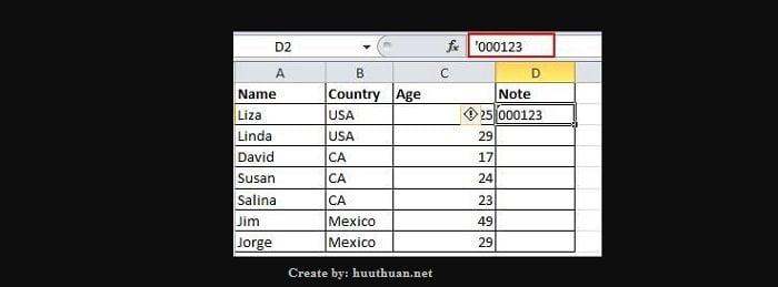20 mẹo Excel hữu ích người dùng cần phải biết 13