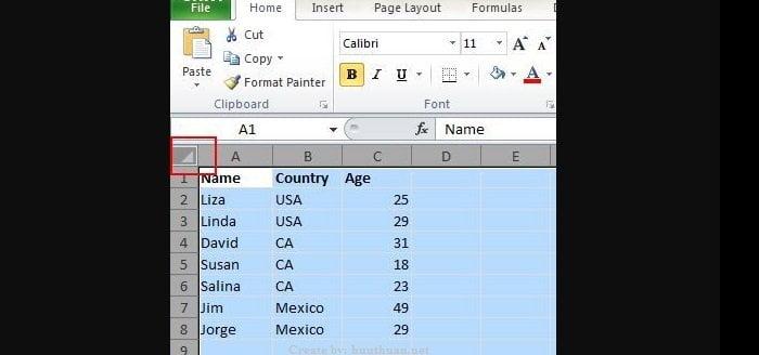 20 mẹo Excel hữu ích người dùng