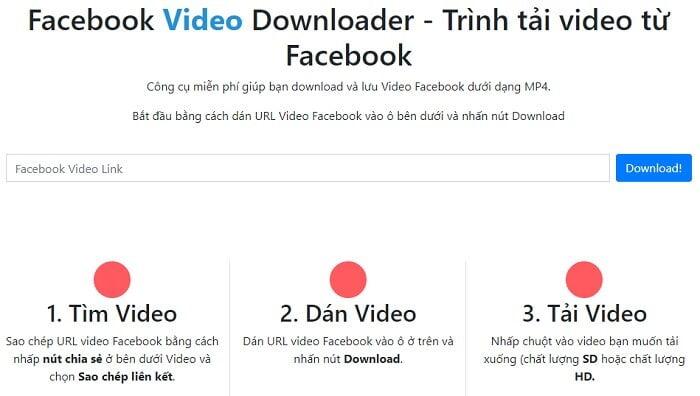 Tải Video Facebook online đơn giản nhất từ huuthuan.net 6