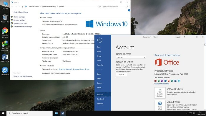 Tải Ghost Windows 10 LTSC x64 Full Soft, Full Driver by Nathan Nguyễn 2