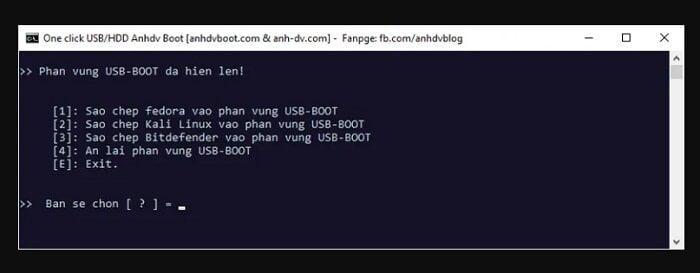 Cách tạo USB cứu hộ đa năng với công cụ AnhDV Boot 23