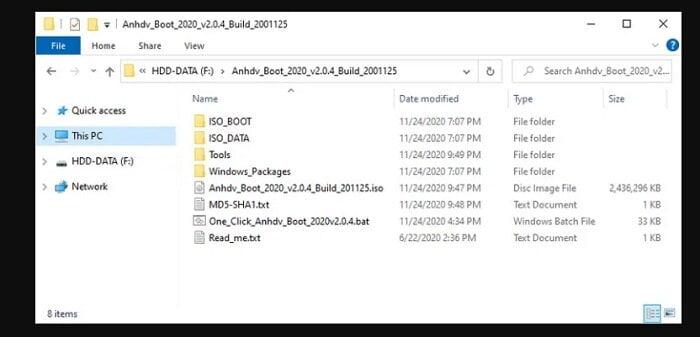 Cách tạo USB cứu hộ đa năng với công cụ AnhDV Boot 14