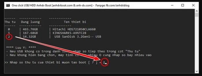 Cách tạo USB cứu hộ đa năng với công cụ AnhDV Boot 15