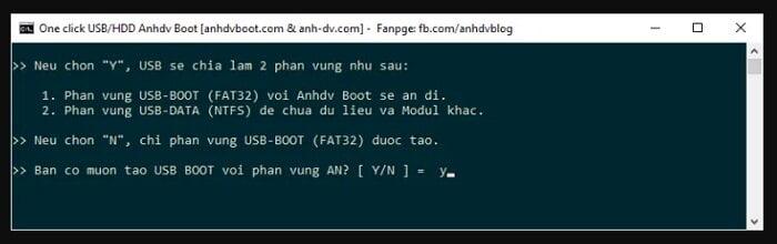 Cách tạo USB cứu hộ đa năng với công cụ AnhDV Boot 17