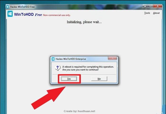 Mẹo bung File ISO Windows bằng WinToHDD đơn giản nhất 8