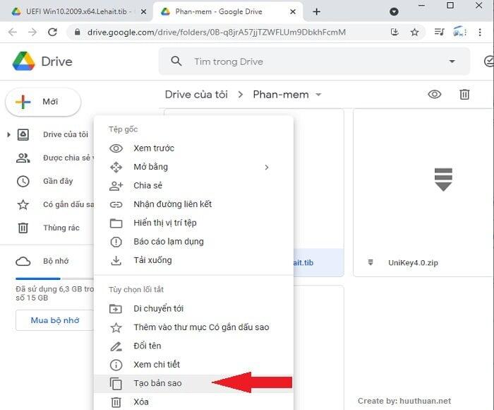 Mẹo tải File Google Drive khi File vượt quá giới hạn lượt tải 7