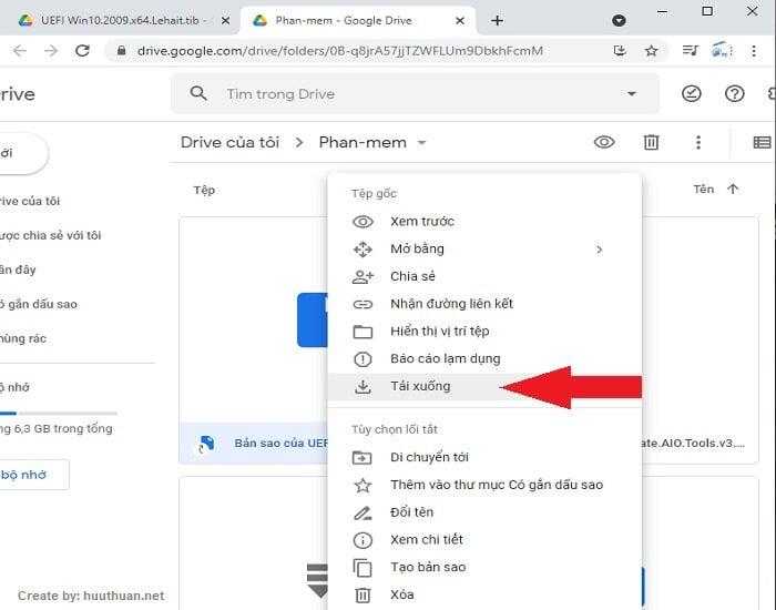 Mẹo tải File Google Drive khi File vượt quá giới hạn lượt tải 8
