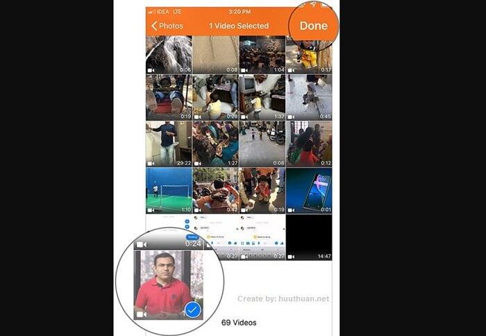 Mẹo tách, lấy nhạc từ video trên điện thoại iPhone 4