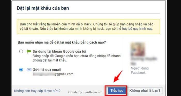 Mẹo lấy lại mật khẩu Facebook bị hack, bị quên, mất Email 15