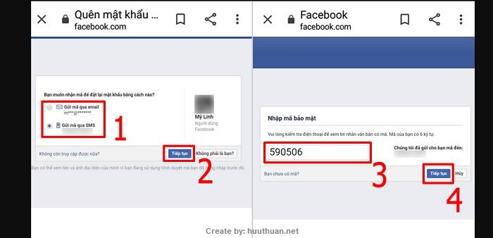 Mẹo lấy lại mật khẩu Facebook bị hack, bị quên, mất Email 5