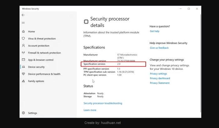 Cách kiểm tra chip TPM trên máy tính để chạy Windows 11 6