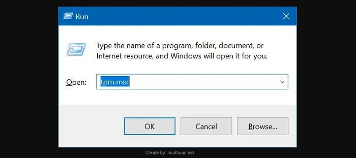 kiểm tra chip TPM trên máy tính để chạy Windows 11