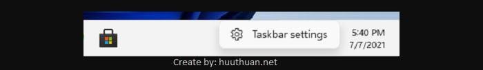 tuy bien taskbar start menu win 11