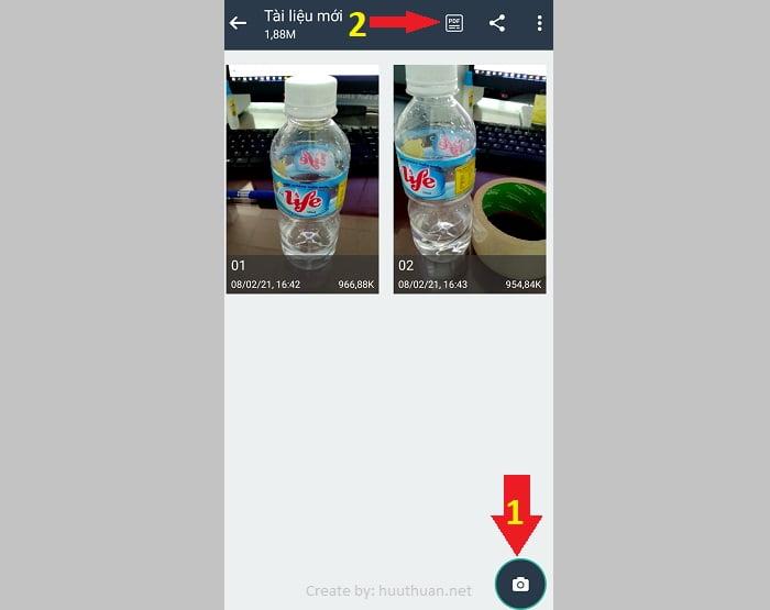 Cách chụp hình chuyển sang PDF trên điện thoại dễ như ăn kẹo 14