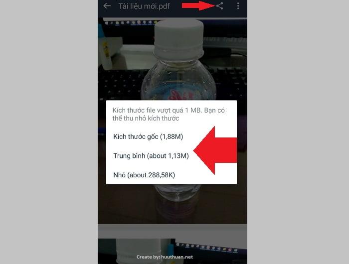 Cách chụp hình chuyển sang PDF trên điện thoại dễ như ăn kẹo 15