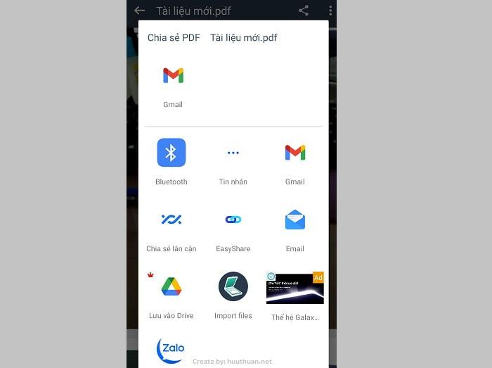 Cách chụp hình chuyển sang PDF trên điện thoại dễ như ăn kẹo 16