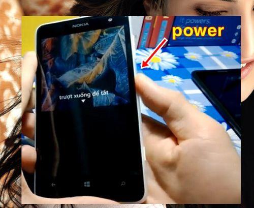 mở khóa điện thoại Windows Phone Lumia khi quên mật khẩu