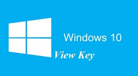Xem Key ban quyen Windows-10