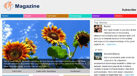 5 theme wordpress miễn phí đẹp và đáp ứng
