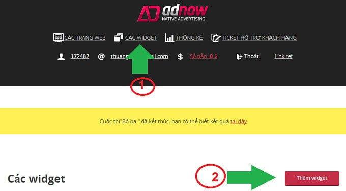 Kiếm tiền từ blog với Adnow mạng quảng cáo tự nhiên? 9