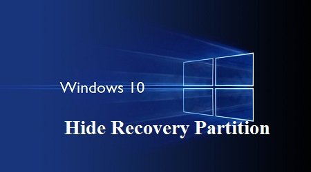 an phan vung Recovery trong Windows-10