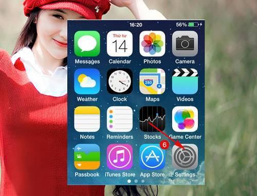 Ẩn tin nhắn hiển thị trên màn hình khóa Iphone