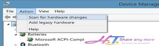 Cách khắc phục biểu tượng Pin bị mất trên thanh Taskbar Windows 17