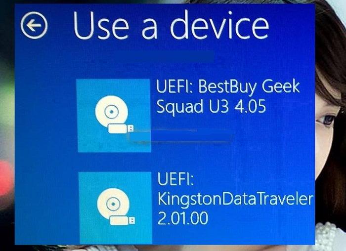 Cách khởi động ổ đĩa Boot USB trên windows 10 1