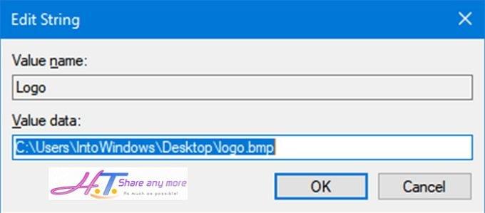 Cách cá nhân hóa thông tin người dùng trong hệ thống Windows 10 7