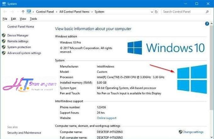 Cách cá nhân hóa thông tin người dùng trong hệ thống Windows 10 2