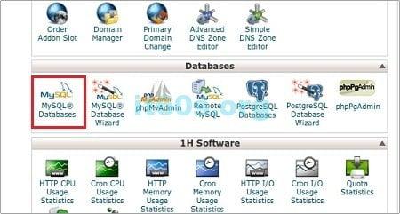 Hướng dẫn tạo cơ sở dữ liệu và tài khoản MySQL