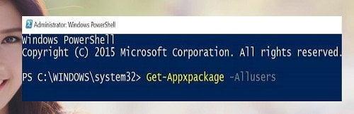 Cách cài đặt lại Windows Store và các ứng dụng khác Windows 10 4