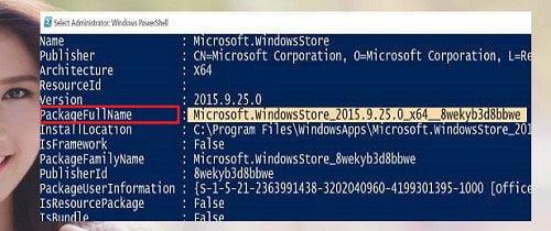 Cách cài đặt lại Windows Store và các ứng dụng khác Windows 10 5